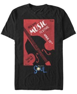 Sun Men's Soul Ny Music Festival Short Sleeve T-shirt  - Black