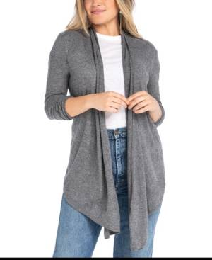 Synergy Organic Clothing Metamorphose Cardigan  - Charcoal