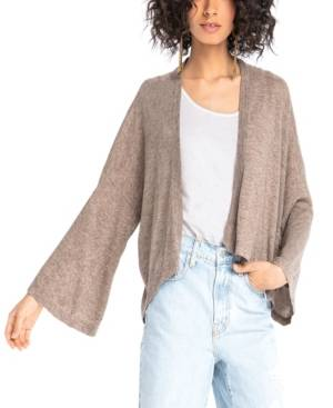 Synergy Organic Clothing Butterfly Cardigan  - Brown