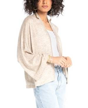 Synergy Organic Clothing Butterfly Cardigan  - Cream