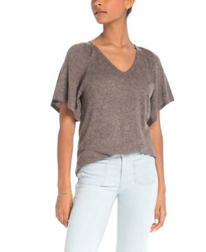 Synergy Organic Clothing Cypress Top  - Brown