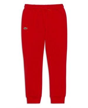 Lacoste Little Boys Sport Fleece Sweatpants  - Red