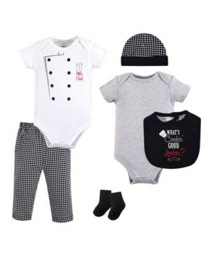 Little Treasure Baby Girl 6 Piece Clothing Set  - Multi