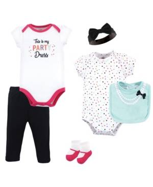 Little Treasure Clothing Set, 6 Piece Set  - White