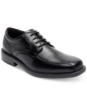 Rockport Men's Sl2 Bike-Toe Oxfords Men's Shoes  - Black