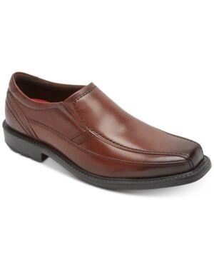 Rockport Men's Sl2 Bike-Toe Loafers Men's Shoes  - Tan