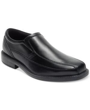 Rockport Men's Style Leader 2 Bike Toe Slip On Men's Shoes  - Black