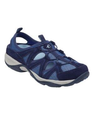 Easy Spirit Women's Earthen Sport Casual Shoes Women's Shoes  - Navy Multi