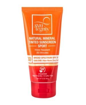 Suntegrity Broad Spectrum Spf 30 Natural Mineral Tinted Sport Sunscreen, 3 oz  - Nude