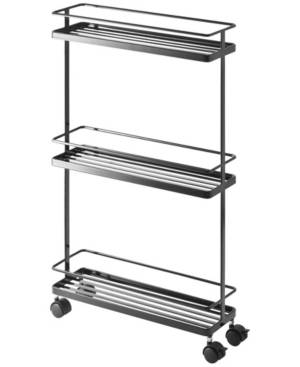 Yamazaki Home Tower Rolling Kitchen Storage Cart