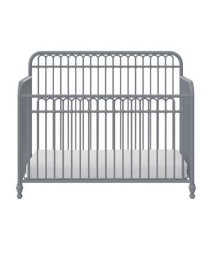 Little Seeds Ivy 3-in-1 Convertible Metal Crib  - Dove Gray
