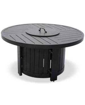 Furniture Marlough Ii Round Fire Pit, Created for Macy's
