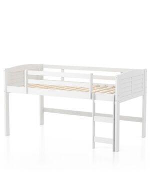 Furniture of America Starr Twin Kid's Loft Bed  - White