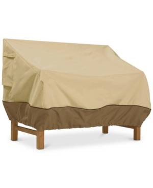 Classic Accessories Large Loveseat Cover  - Light Beige