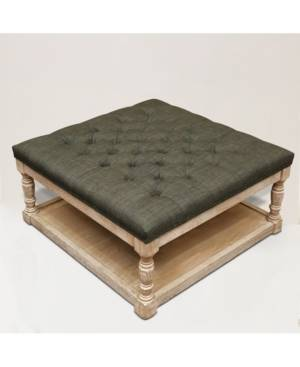 Home Accessories Cairona Indoor Ottomans  - Gray