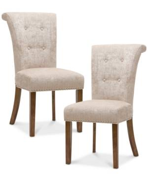 Furniture Daniel Set of 2 Dining Chairs  - Natural