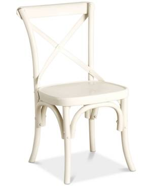 Furniture Closeout! Journey Dining Chair (Set of 2)  - White
