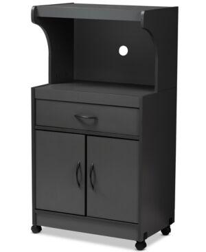 Furniture Elin Kitchen Cabinet  - Dark Grey