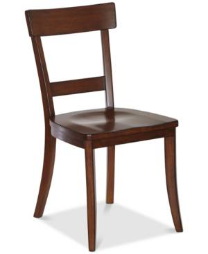 Furniture Closeout! Brant Dining Chair (Set of 2)  - Brown