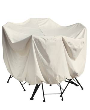 "Treasure Garden Outdoor Patio Furniture Cover, 36"" Bistro/Cafe Table & Chairs  - No Color"