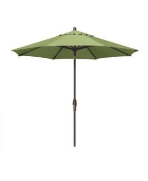 Treasure Garden Patio Umbrella, Outdoor Bronze 9' Auto-Tilt, Quick Ship  - Ginko