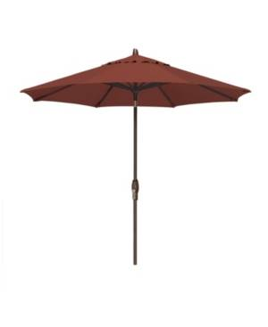 Treasure Garden Patio Umbrella, Outdoor Bronze 9' Auto-Tilt, Quick Ship  - Henna