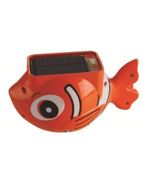 Blue Wave Sports Sun Fish Solar Floating Pool Light  - Orange