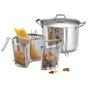 Tramontina Gourmet 8 Qt Pasta Cooking Set  - Stainless