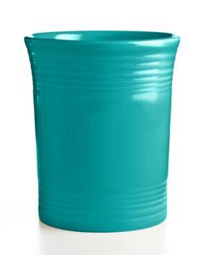 Fiesta Turquoise Utensil Crock  - Turquoise
