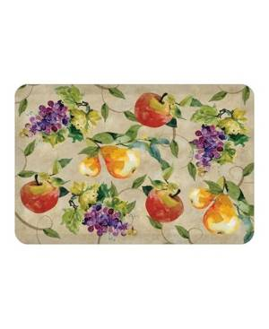Laural Home Palermo Kitchen Mat  - Tan