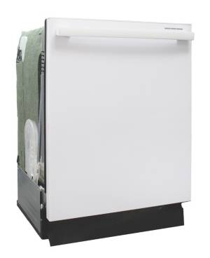 """Spt Appliance Inc. Energy Star 24"""" Built-In Stainless Steel Tall Tub Dishwasher with Smart Wash System Heated Drying  - White"""