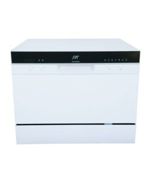 Spt Appliance Inc. Spt Countertop Sd-2224DW Dishwasher with Delay Start & Led  - White