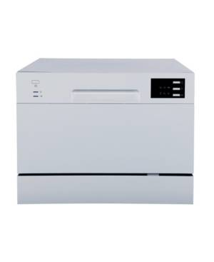 Spt Appliance Inc. Spt Countertop Dishwasher with Delay Start & Led - Silver  - Gray