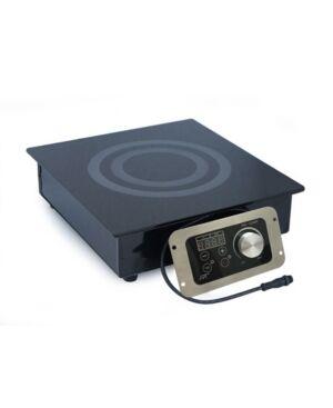 Spt Appliance Inc. Spt 1400W Built-In Radiant Cooktop (Commercial Grade)  - Black