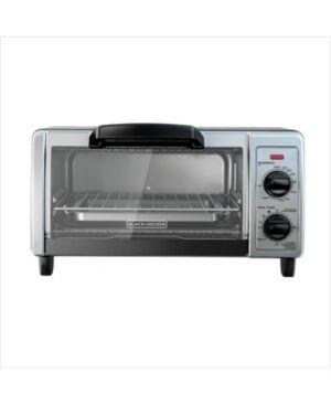 Black & Decker 4-Slice Toaster Oven  - Silver