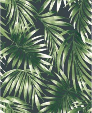 Graham & Brown Elegant Leaves Wallpaper  - Green