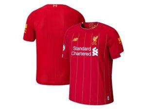 New Balance Men's Liverpool Fc Club Team Home Stadium Jersey  - Red