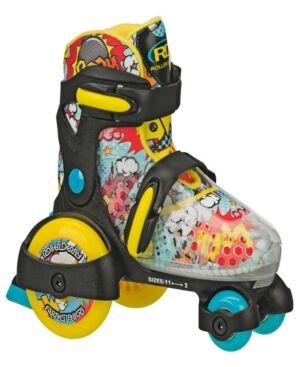 Roller Derby Skate Corp Fun Roll Boy's Jr Adjustable Rollerskates  - Black