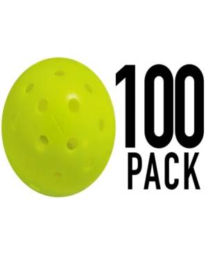 Franklin Sports X-40 Performance Outdoor Pickleballs - United Stes - Uspa Approved (100 Pack)  - Yellow