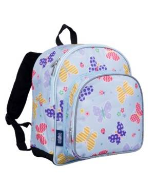 "Wildkin Butterfly Garden 12"" Backpack  - Blue"