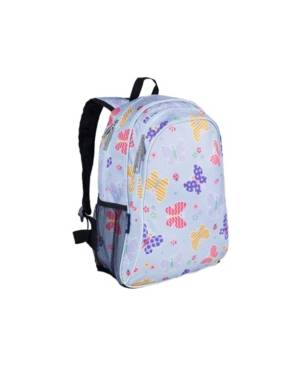 "Wildkin Butterfly Garden 15"" Backpack  - Blue"