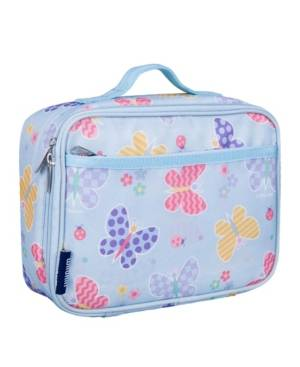 Wildkin Butterfly Garden Lunch Box  - Blue