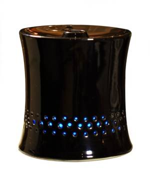Spt Appliance Inc. Spt Ultrasonic Aroma Diffuser Humidifier with Ceramic Housing  - Black