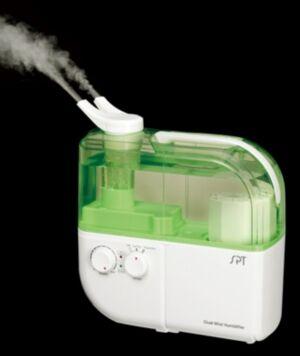 Spt Appliance Inc. Spt DualMist Ultrasonic Humidifier WarmCool  - Green