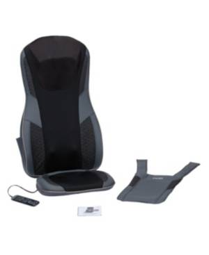 Homedics Serenity Shiatsu Massage Cushion with Sound & Meditation  - Black