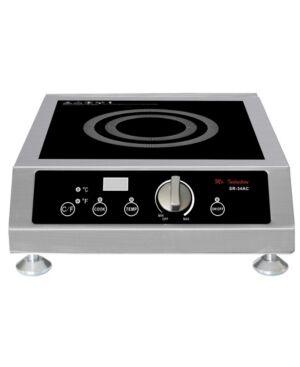 Spt Appliance Inc. Spt 3400 Watt Commercial Induction Countertop Range  - Black