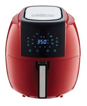 Gowise Usa 8-in-1 5.8-Qt Air Fryer Xl with 6 Piece Accessory Kit  - Red