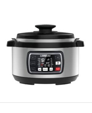 GoWISE Usa 8.5 Quart Ovate Series Pressure Cooker with Accessories  - Silver