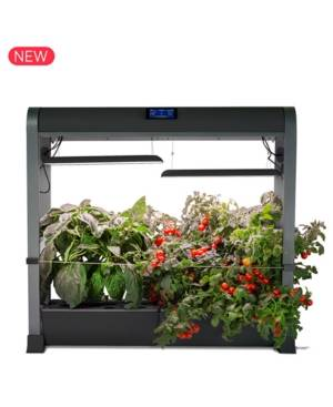 AeroGarden Farm with Salad Bar 24-Pod Seed Kit  - Black