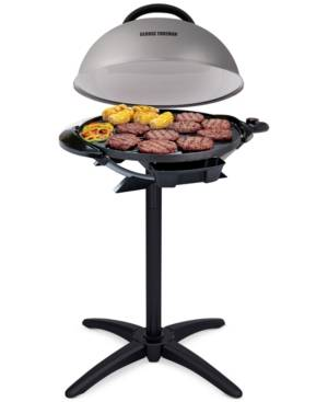 George Foreman GFO240S Indoor & Outdoor Grill  - Silver/Black